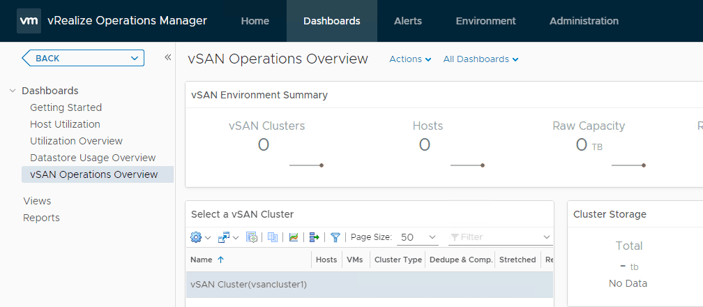 The-vSAN-dashboards-will-take-some-time-to-display-information-from-the-newly-configured-vSAN-adapter-instance Configure VMware vSAN Monitoring with vRealize Operations 7.0