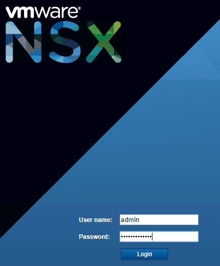 Login-to-the-NSX-Manager-to-be-upgraded-to-NSX-6.4.4 Upgrading NSX Data Center for vSphere Manager to 6.4.4