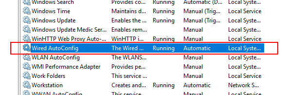 Setting-the-Wired-Autoconfig-service-to-Automatic-and-Started Configure Windows 10 for 802.1X User Authentication