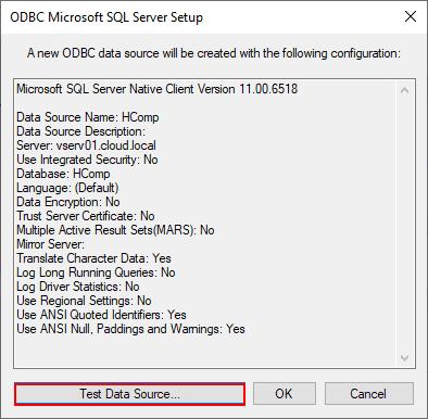 Test-the-new-Horizon-7.7-Composer-Server-ODBC-data-source VMware Horizon 7.7 Composer Server Installation