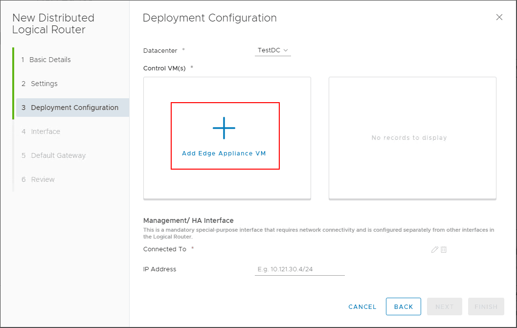 Adding-Edge-Appliance-VM VMware NSX Layer 2 Bridge Configuration