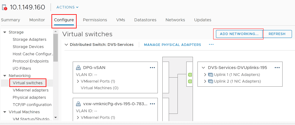 Beginning-the-process-to-add-a-VMkernel-adapter-from-the-ESXi-host-network-configuration Failed to add a vSphere Distributed Switch VMkernel adapter on ESXi Host