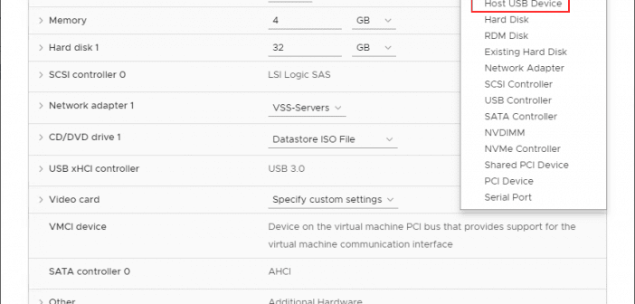 Boot ESXi Virtual Machine From Passthrough USB - Virtualization Howto