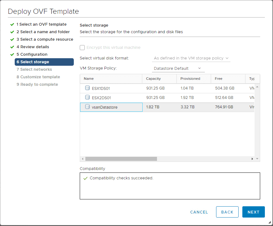 Choose-the-storage-destination-for-the-NSX-T-unified-appliance What is VMware NSX-T Manager Unified Appliance and Installation
