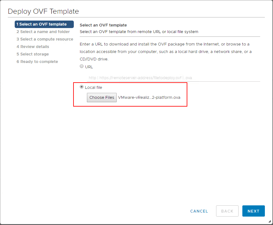 Choose-the-vRealize-Network-Insight-4.0-platform-OVA-file-for-deployment Installing vRealize Network Insight 4.0 Platform and Proxy Appliances