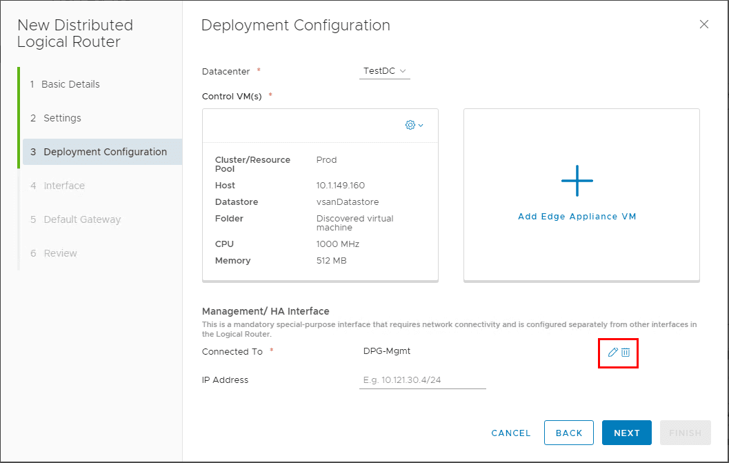 Configuring-the-Management-HA-interface VMware NSX Layer 2 Bridge Configuration