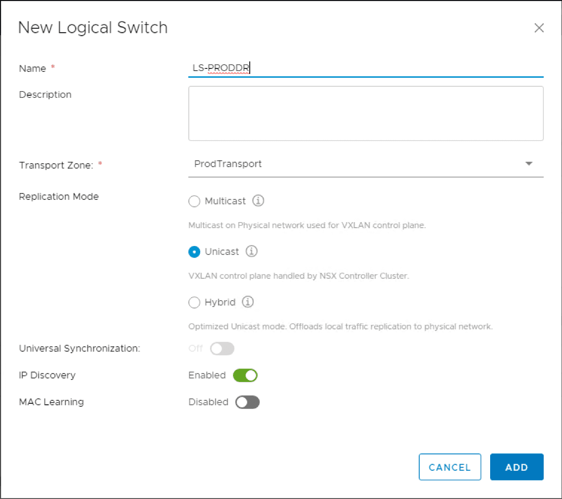 Creating-a-new-NSX-Logical-Switch-and-replication-mode VMware NSX Layer 2 Bridge Configuration