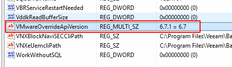 Delete-the-registry-key-for-connecting-to-vSphere-6.7-U1-with-update-3 Veeam Backup and Replication Update 4 Released New Features Upgrade Process