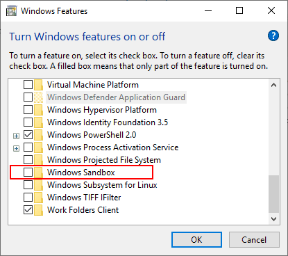Installing-the-new-Windows-Sandbox-feature-in-Windows-10-Insider-Preview-Build-18317