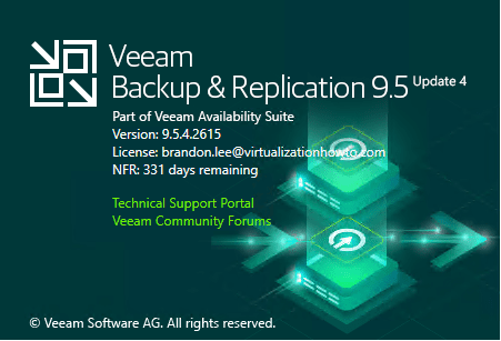 New-Veeam-Backup-Replication-9.4-Update-4-build-number Veeam Backup and Replication Update 4 Released New Features Upgrade Process