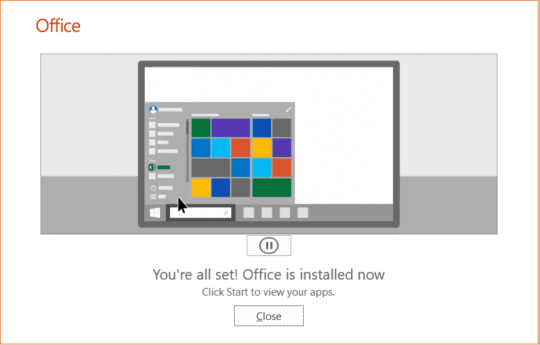 Office-365-installation-completes-successfully