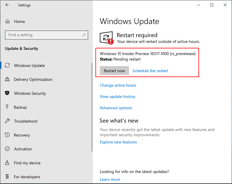 Restart-required-to-install-and-setup-the-Windows-Insider-Preview-build-18317