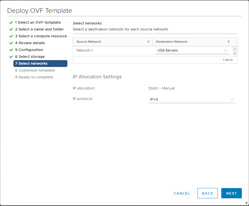 Select-the-network-to-attach-the-NSX-T-unified-appliance What is VMware NSX-T Manager Unified Appliance and Installation