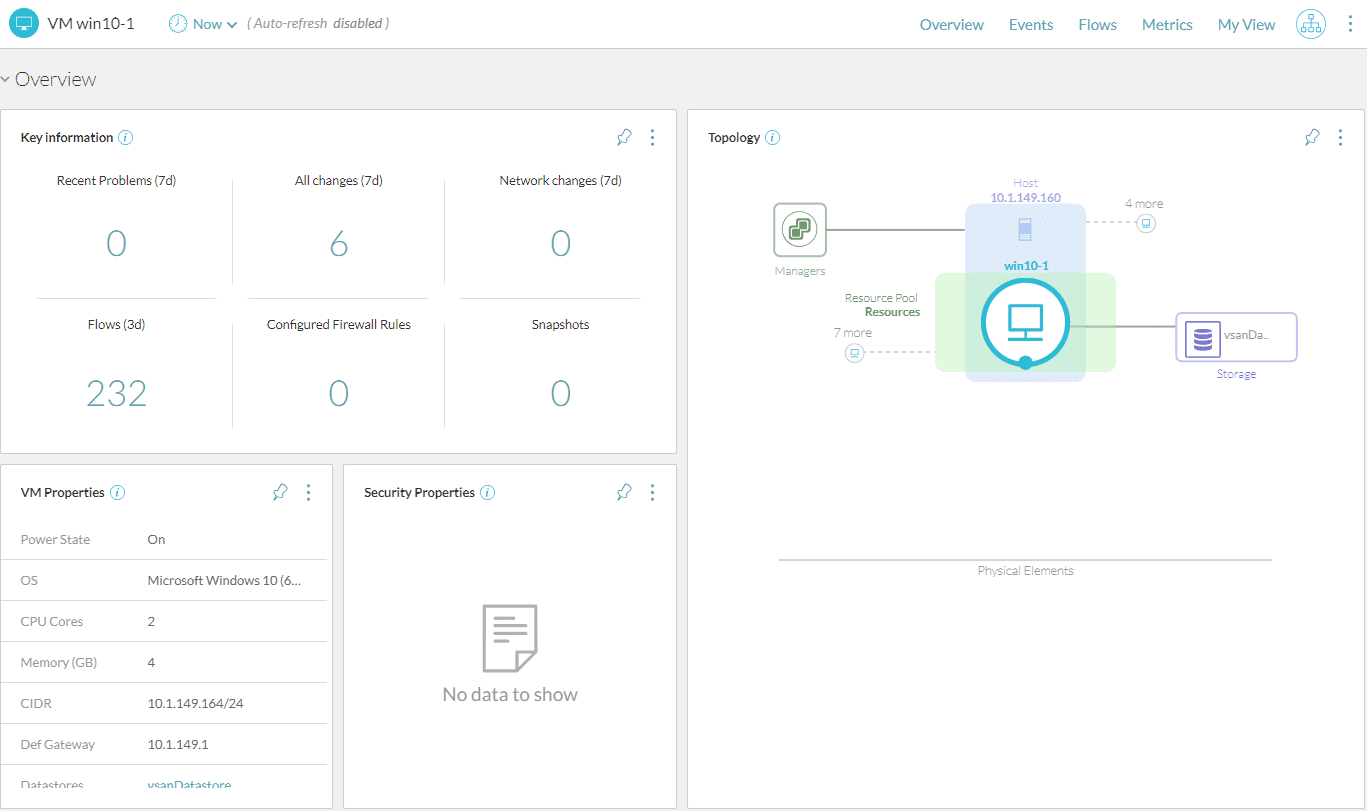 Viewing-details-of-network-flows-at-the-VM-level-with-vRNI-4.0 Scan PCI-DSS Network Security Compliance with VMware vRealize Network Insight 4.0