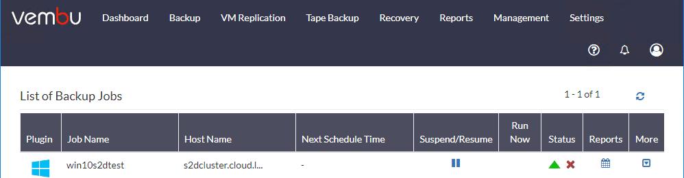 Hyper-V-Clustered-VM-backup-jobs-begins Vembu BDR Suite 4.0 Product Review