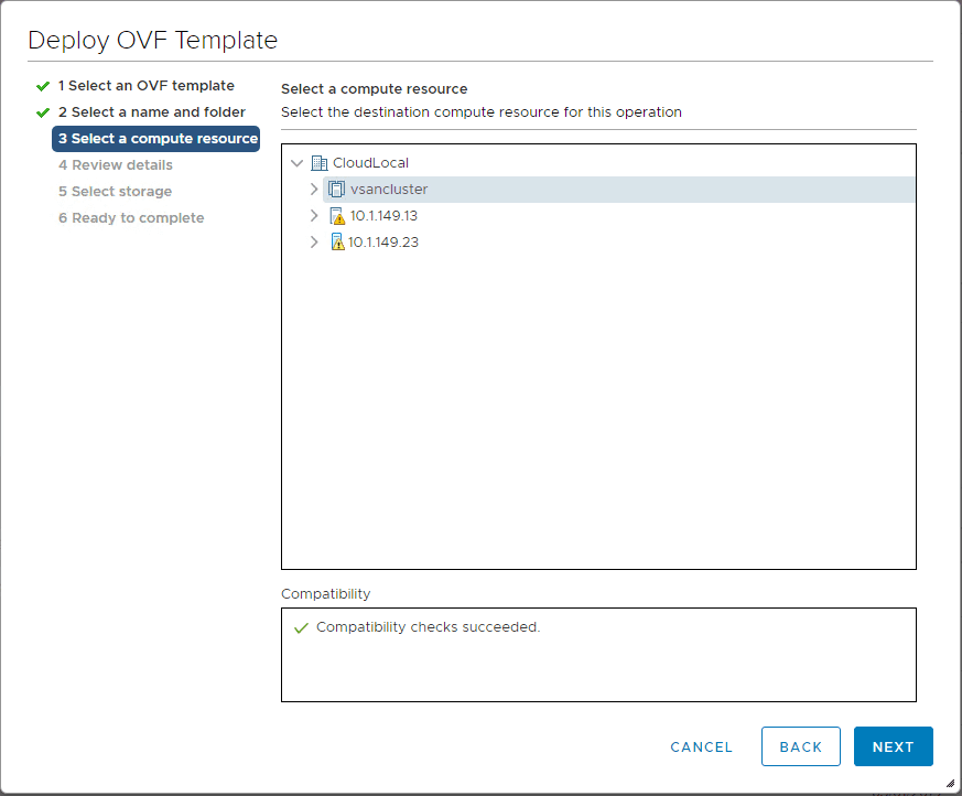 Choose-the-compute-resource-to-house-the-NSX-T-2.4-manager-controller-appliance Install VMware NSX-T 2.4 Manager Controller Combined Appliance