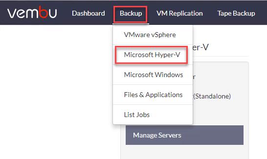 Choosing-to-backup-a-Hyper-V-environment-in-Vembu-BDR-Suite-4.0