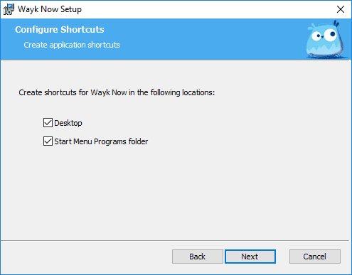 Configuring-shortcuts-of-the-Wayk-Now-remote-access-tool