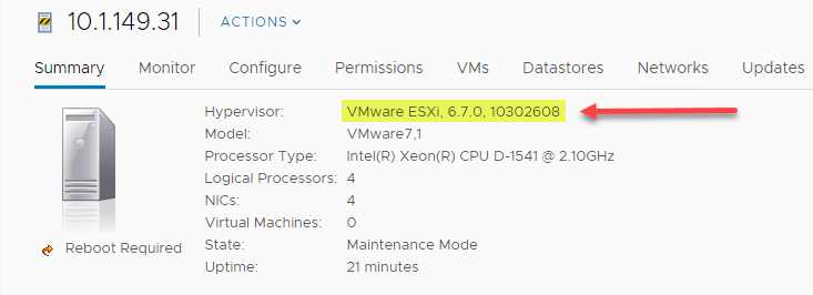 ESXi-6.7-U1-10302608-version-is-not-supported NSX-T 2.4 Invalid Host Type or Host Not Supported Error
