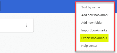 Export and Import a Single Bookmarks Folder from Chrome