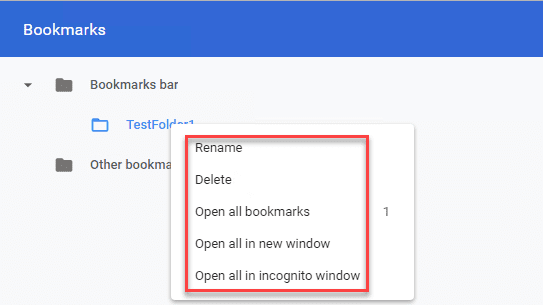 In-the-Chrome-bookmarks-manager-there-is-no-option-to-export-a-single-folder