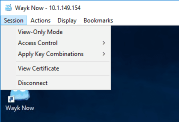 Looking-at-the-session-menu-in-Wayk-Now-free-remote-access-tool