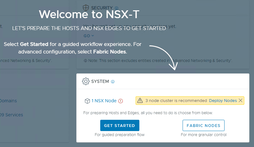 NSX-T-2.4-Guided-workflow-after-logging-into-the-UI Install VMware NSX-T 2.4 Manager Controller Combined Appliance