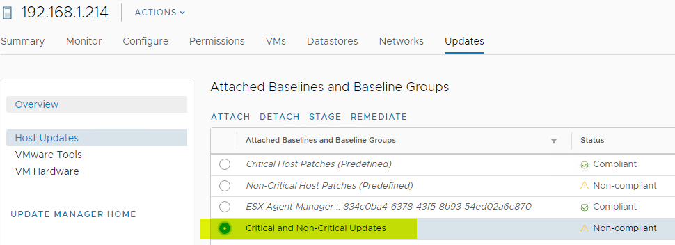 Selecting-the-newly-attached-baseline-group-for-host-remediation
