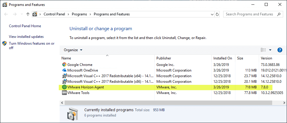 Verifying-the-Horizon-View-7.8-Agent-is-installed