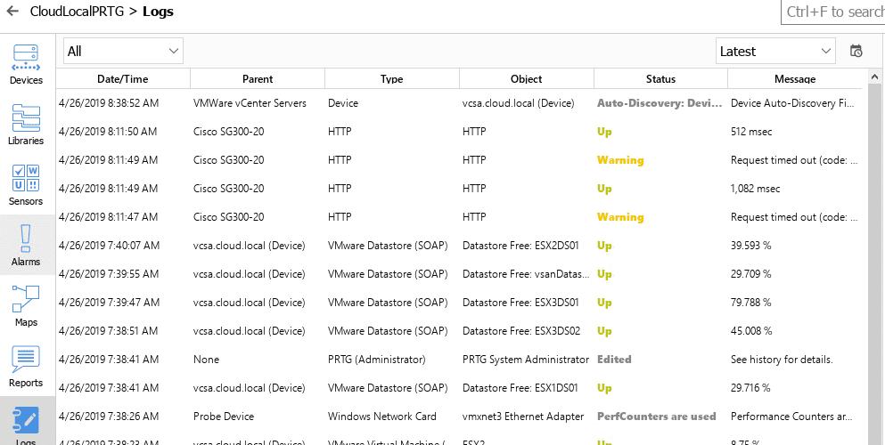 PRTG Desktop Released Best Network Monitoring Tools for Windows