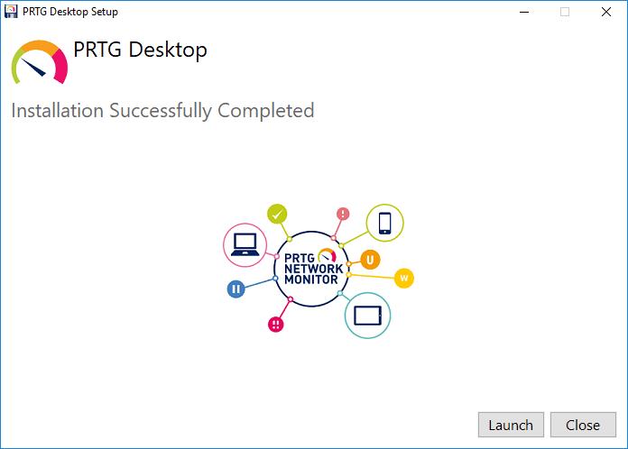 PRTG-Desktop-installation-successfully-finishes