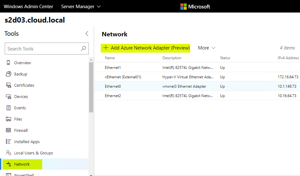 Install and Configure Windows Server 2019 Azure Network