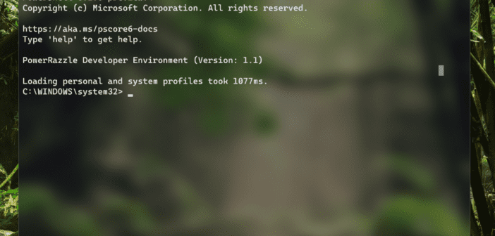 Download the New Microsoft Windows Terminal Command Prompt