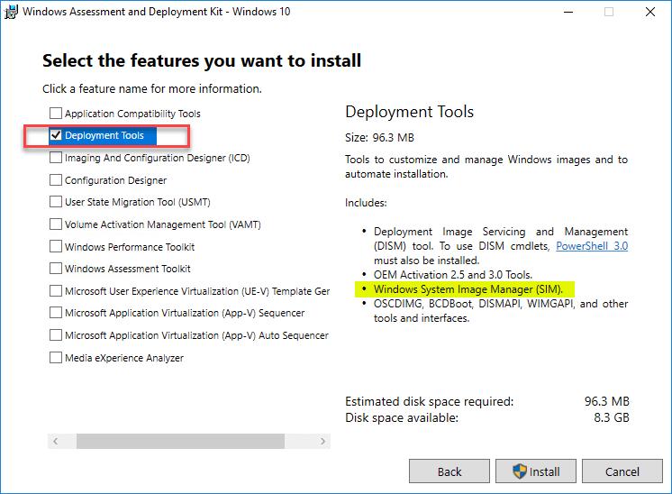 Create Unattend Answer File for Windows Server 2019