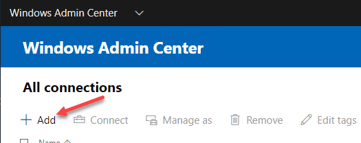 Adding-a-new-connection-in-Windows-Admin-Center