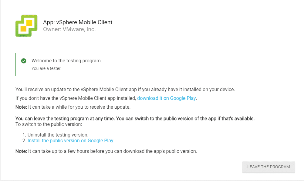 Downloading-the-vSphere-Mobile-Client-from-Google-Play-Store