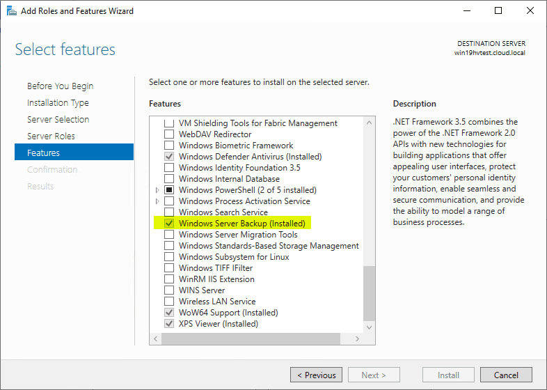 Free Backup Software for Hyper-V Clusters - Virtualization Howto