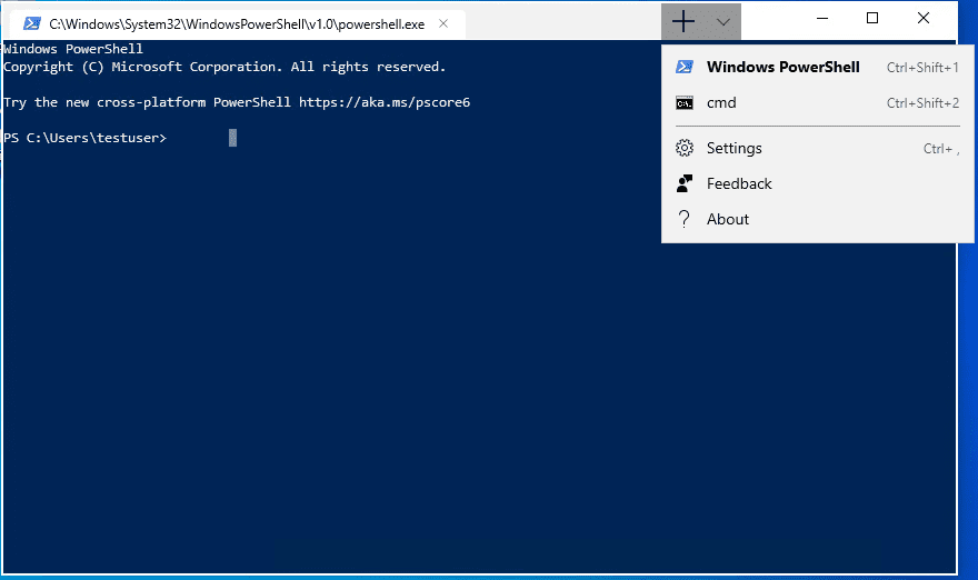 Windows Terminal Preview Download Link Posted in Windows Store