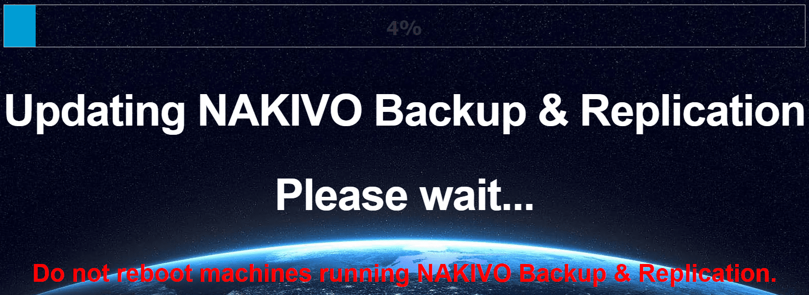 The-NAKIVO-Backup-Replication-v8.5.2-update-begins-applying-to-the-appliance