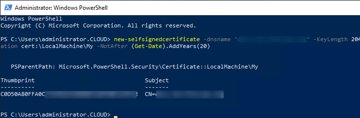 Using-PowerShell-to-create-a-free-self-signedcertificate