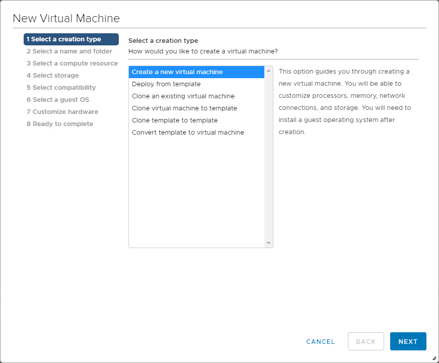 Begin-the-New-Virtual-Machine-wizard-in-VMware