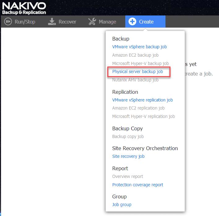 Creating-a-new-physical-server-backup-job-in-NAKIVO