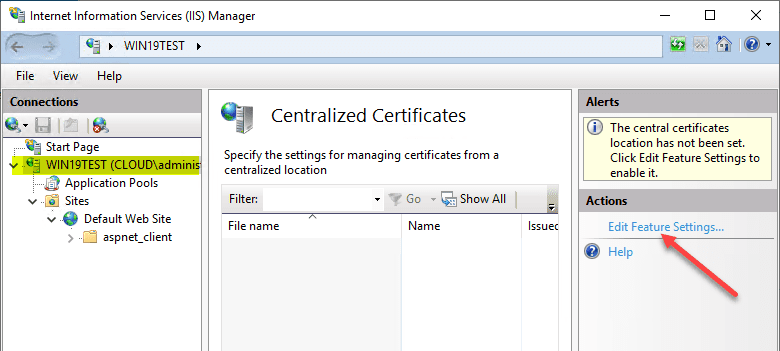 Share SSL Certificates Between Multiple IIS Servers with