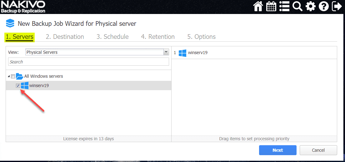 New-Backup-Job-Wizard-for-Physical-Server-wizard