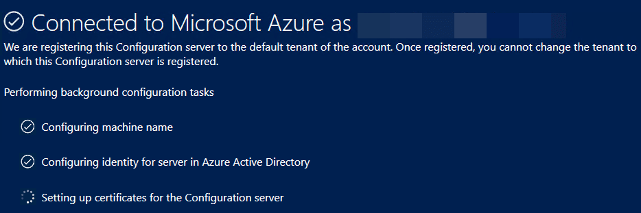 Successfully-connected-to-Microsoft-Azure-during-the-Azure-Site-Recovery-Configuration-Server-setup