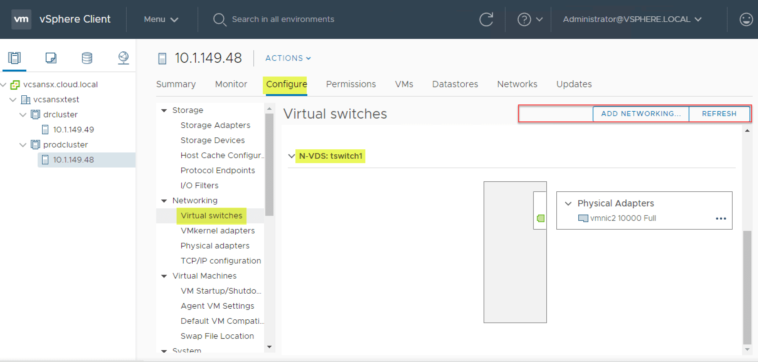 Options-in-vSphere-Client-for-managing-NSX-T-virtual-switch