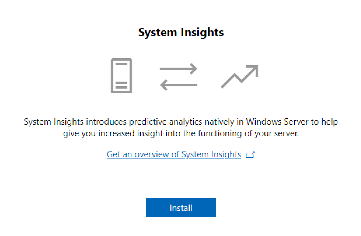 Configure-System-Insights-from-Windows-Admin-Center