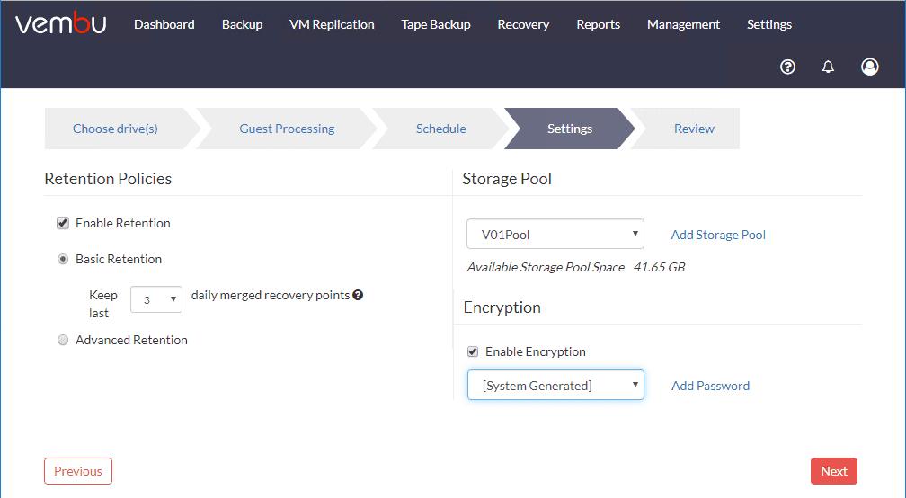 Configure-retention-storage-and-encryption