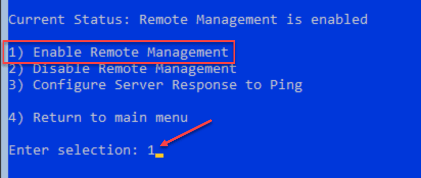 Enable-Remote-Management-using-sconfig