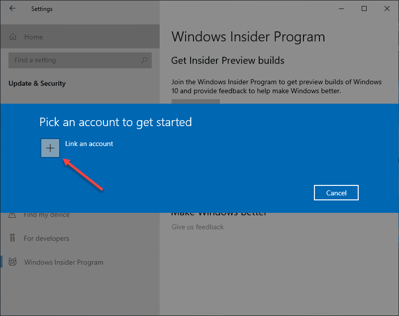 Link-an-account-to-get-started-with-the-Windows-Insider-Preview-program